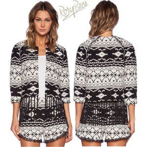Rory Beca Tribal Fringe Jacket XS